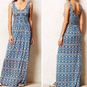 Anthropologie Vanessa Virginia Tidal Maxi Dress Sm